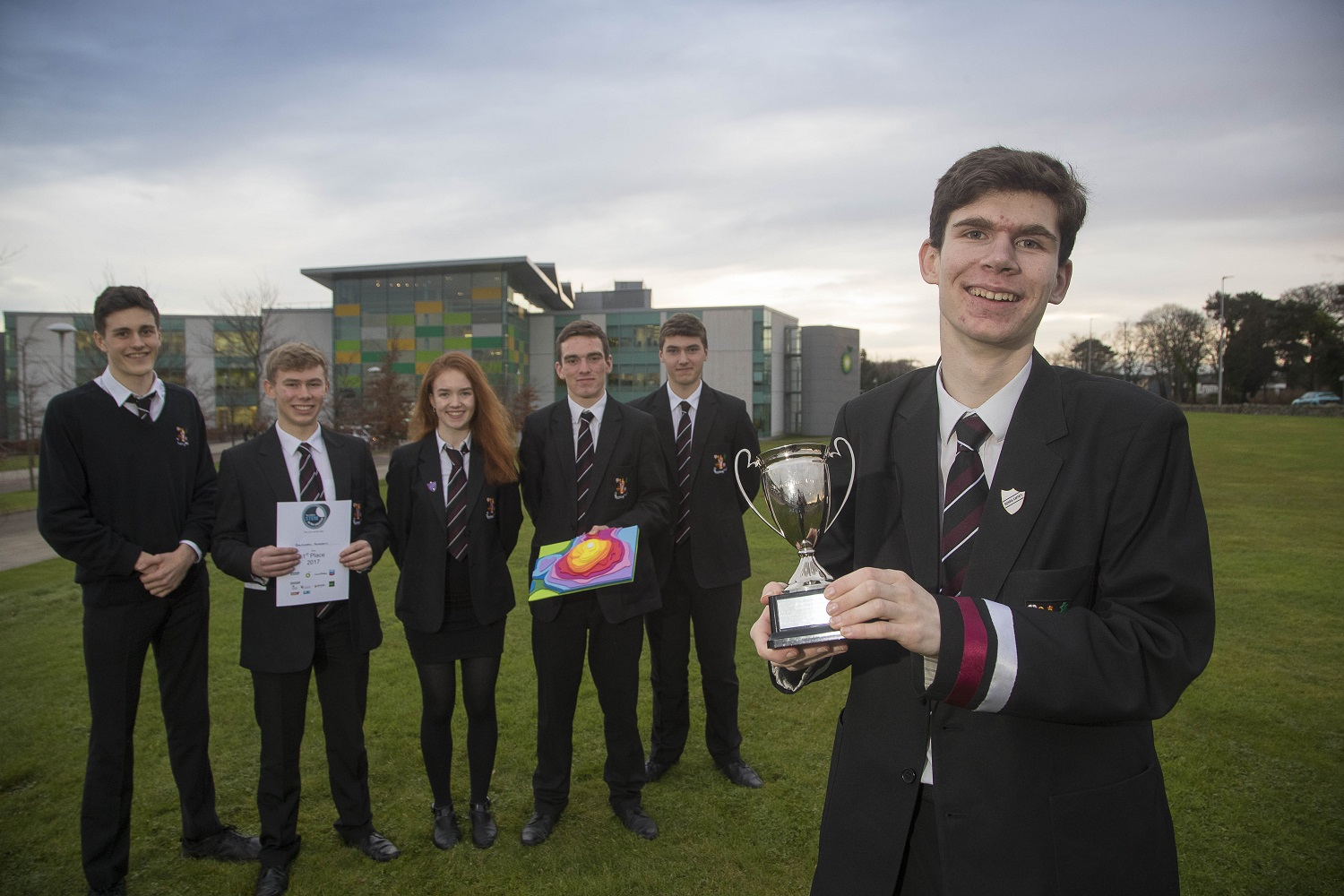 1st Place Banchory Academy 1